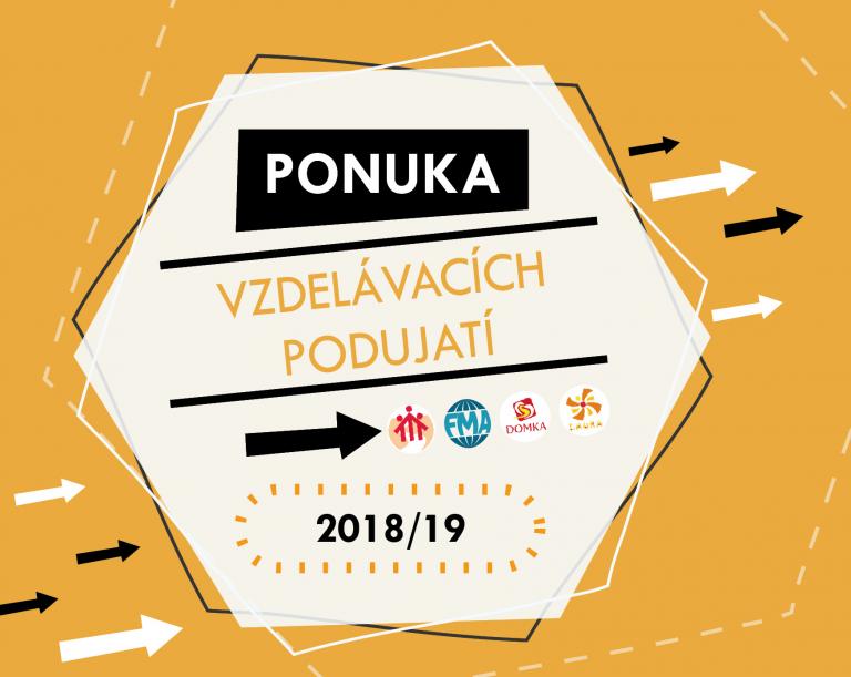 Ponuka vzdelávacích podujatí 2018/19