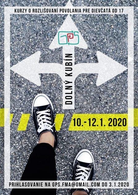 plagat GPS prihlasovanie na januar 2020